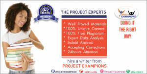 Project would Help you to Enhance your Knowledge