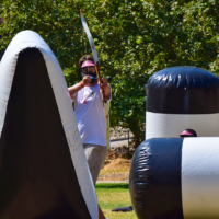 Archery tag rules and team-building