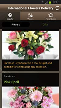 international flower delivery