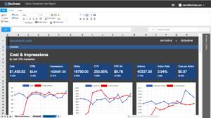 facebook analytics report